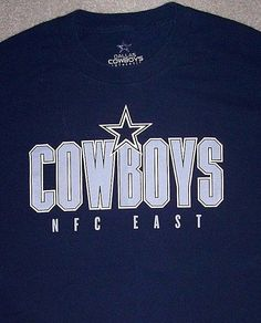 Dallas COWBOYS NFL Football Shirt Adult Large Blue NFC East AT T Stadium  Texas  DallasCowboysAuthentic  DallasCowboys 5d5124c01