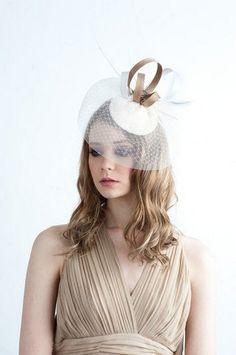 Lady Chantilly  Fascinator Wedding Bridal Hair Accessory
