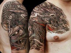 Japanese tattoo http://tattootodesign.com/japan-tattoos/