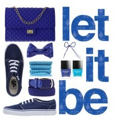 """""""Let It Blue"""" by coolorfool on Polyvore"""