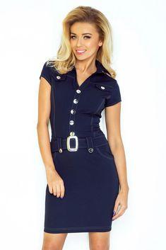 Šaty Eliza jeans  46a5f54043a