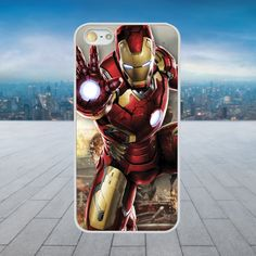 Iron Man Hand White Hard Phone Case Cover Fits Iphone Models