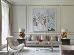 Living room design luxury living room design ideas with neutral color palette home decor 10 Interior Design London, Classic Interior, Luxury Interior, Room Interior, English Interior, Interior Colors, Decoration Inspiration, Interior Inspiration, Design Inspiration