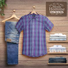 Boutique vêtements homme grande taille. #chemise #xxl #jeans #homme #fort Button Down Shirt, Men Casual, Boutique, Mens Tops, Shirts, Fashion, Plus Size Fashion, Plus Sized Clothing, Mens Big And Tall