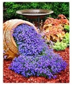 Spilling flowers  100 Container Garden Ideas For Arkansas, Texas, Tennessee and The South, Part 3 Jonesboro | Memphis | South Lawn Care Landscape Jonesboro Garden Flowers Container Gardens Best Flowers For Container Gardens BadAsFlowers Arkansas Garden An