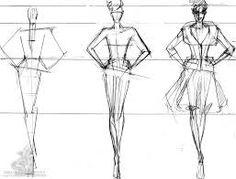 как рисовать эскизы одежды - Поиск в Google
