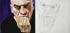 "Saatchi Art Artist Davide Castronovo; Painting, ""G^2 (SOLD)"" #art"