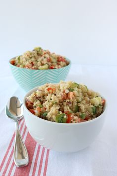 Better-than-Costco Quinoa Salad. Super Easy!