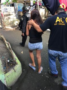 POLICE caught a 31-year-old woman in the act of offering to sexually exploit three young girls in exchange for money from online pedophiles yesterday afternoon in Talisay, Cebu City. Operatives from the PNP Anti-Cybercrime Group 7 arrested Maricel (real name withheld) in an entrapment and rescued eight young girls, ages 3 to 17 years old, [ ]