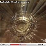 The Miracle of Lanciano is officially recognized by the Catholic Church as a true Eucharistic Miracle. It was the first and greatest Eucharistic Miracle of the Catholic Church. This wondrous Event took place in the 8th century A.D. in the little Church of St. Legontian in Lanciano, Italy, as a divine response to a Basilian monk's doubt about Jesus' Real Presence in the Eucharist. During Holy Mass, after the two-fold consecration, the host was changed into Heart Tissue Flesh and the Wine...