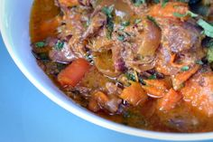 Slow Cooker Curried Goat Shanks | Award-Winning Paleo Recipes | Nom Nom Paleo
