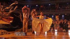In the finals: The ABC weather anchor dancer her way into the finals of DWTS on Monday
