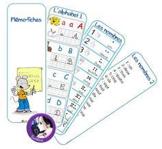 La classe de Sanléane: Mémo fiches CP/CE1/CE2