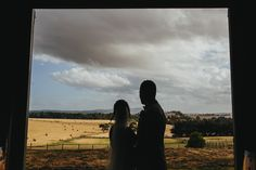 Zonzo Wedding View from Barn - Photography by Kim Cartmell