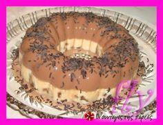 Πανακότα σοκολάτας με μπισκότα