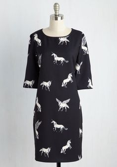 Believe to the Imagination Dress, @ModCloth