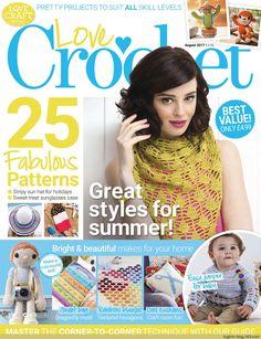 Love Crochet  August 2017 - 轻描淡写 - 轻描淡写