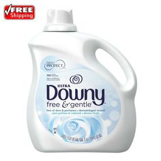 Downy Ultra Fabric Softener Free And Gentle 129 Oz 150 Loads Hypoallergenic | Home & Garden, Household Supplies & Cleaning, Laundry Supplies | eBay!