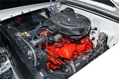 1958 CHEVROLET IMPALA CONVERTIBLE - Engine - 198797