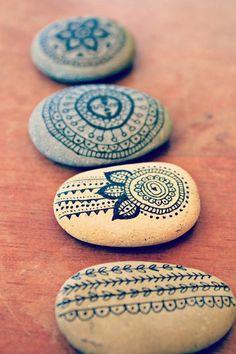 Painted rock design ideas