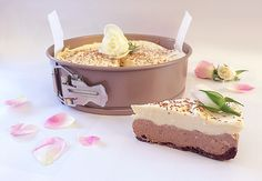 double chocolate rosewater or orange flavoured cheesecake, jaffa or turkish delight, banting keto diabetic friendly, sugar free, gluten free, low carb never tasted so good