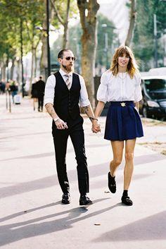 Vanessa Jackman: Paris Fashion Week SS 2015....Veronika and Justin