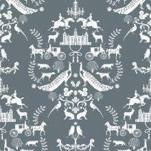 Yukari Sweeney Design Lord of the Manor Wallpaper- Sycamore Luxury Wallpaper, Modern Wallpaper, Wall Wallpaper, Designer Wallpaper, Wallpaper Ideas, Room Accessories, Surface Pattern Design, Beautiful Patterns, Pattern Paper