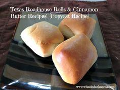 Texas Roadhouse Rolls + Cinnamon Butter Copycat Recipe
