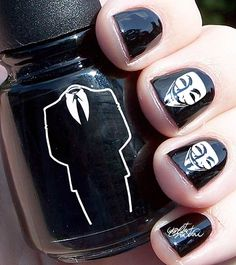 Nail polish Anonymous www.politicalcomics.info