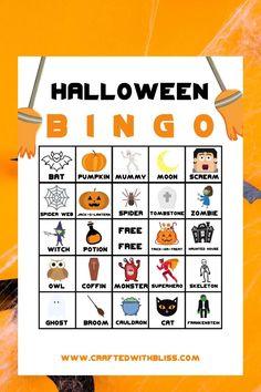 Sac Halloween, Adornos Halloween, Halloween Party Snacks, Halloween Crafts For Toddlers, Halloween Poster, Halloween Party Games, Halloween Birthday, Holidays Halloween, Halloween Games For Adults