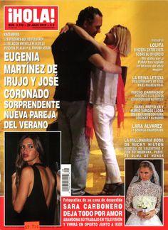 HOLA! Magazine | July 2015 | Gaia Mother Pearl Resin Minaudiere | Nieves Alvarez | #YYPress #YYGAIA