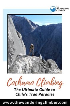 Making this list was particularly hard because there were so many good places that ended up left out. You could spend your entire life here and not see or do it all. In 2017 I was fortunate enough to spend multiple months in Chile where I explored much of what the country had to offer. #thewanderingclimber #climbing #climbingrocks #climbingguide #Chile