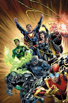 Justice League: Crime Syndicate by Ivan Reis