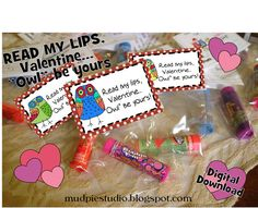 Read my Lips, Owl by Yours Valentine! - tag for chapstick