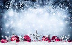 Обои зима, рождество, рождество, Рождество, шары, подарок, елка, рождество, снег, Новый год, украшение