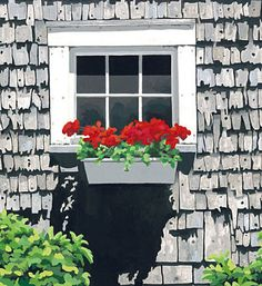 Dana Heacock, creates fabulous Maine art! I've always loved this one.