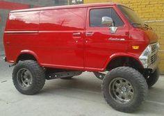 V8-VAN-SIX-WHEEL-AND-4X4 - Custom V8 Van Conversion