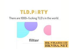 TLDparty一鍵搜索GTDL頂級域後綴 Usa Website, Research Paper, Names