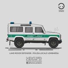 KombiT1: Land Rover Defender - Polizia Locale Lombardia