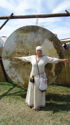 The big battle drum