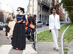 Style Crush: Oksana On   street style   feminine   via HonestlyWTF