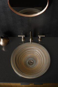 SMALL Mini Rustic Vessel Copper Sea Shell Bath Kitchen Bar Prep Sink Vintage Art Bathroom Wash Basin Bowl Artistic Metal Wash Pot