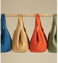 Soho Slouch Bag - Free Tutorial & Pattern