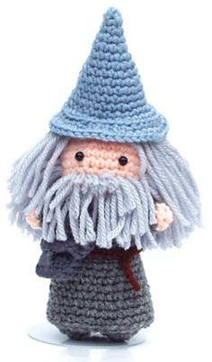 Ravelry: Nimoe's Gandalf amigurumi... SO CUTE!!