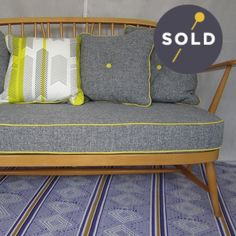 Image of Ercol Two-Seater Blonde