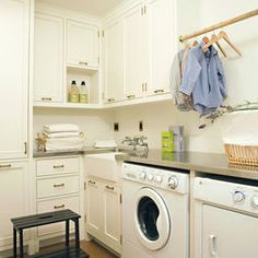 laundry layout oversized front loader - Google Search