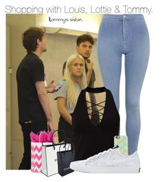 """""""Shopping with Louis, Lottie & Tommy."""" by cheekyxtommo ❤ liked on Polyvore featuring Topshop, Miss Selfridge, Casetify, Chanel and NIKE"""