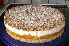 Apple pie with nut crumble - Kuchen - Pecan Recipes Pecan Recipes, Brownie Recipes, Cookie Recipes, Dessert Recipes, Chocolate Brownie Cookies, Chocolate Flavors, Chocolate Chips, Cake Mix Cookies, Cookies Et Biscuits