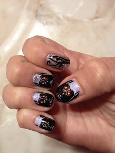 DARK FORCE Darth Vador nail decals by chachacovers on Etsy, $5.00