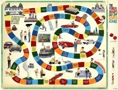 Ferris Bueller's Day Off board game
